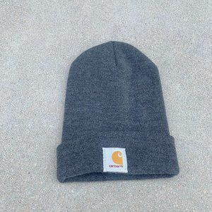 Carhartt Acrylic Charcoal gray Beanie Warm Winter